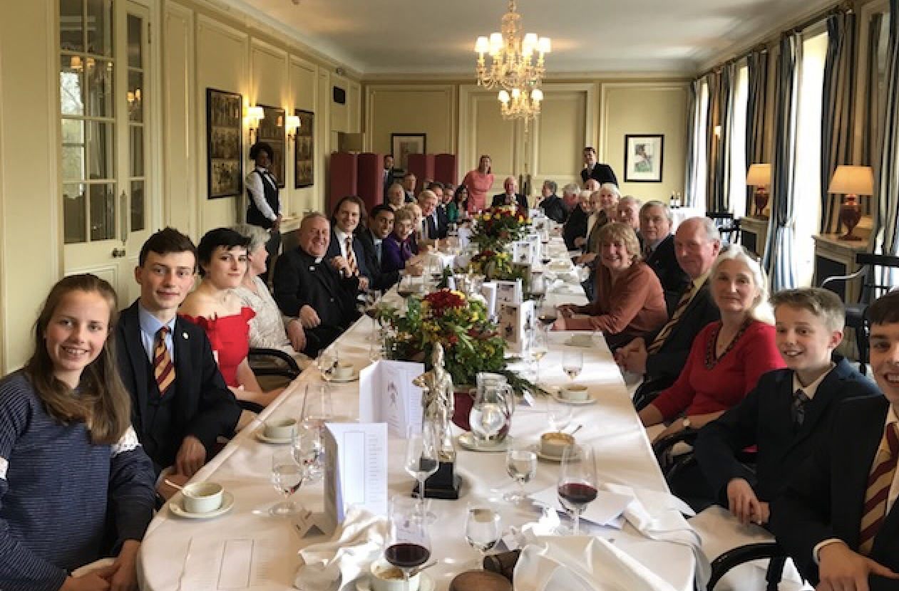 The Annual luncheon at the Cavalry and Guards Club.  12th April 2019.
